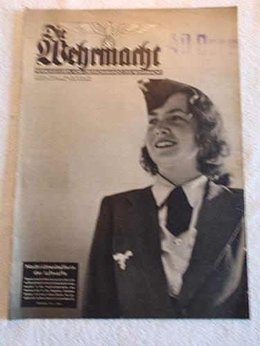 """Nice Magazine """"Die Wehrmacht"""" from 1941"""