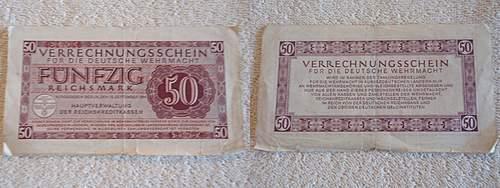 Click image for larger version.  Name:Fünfzig reichsmark verrechnungsschein für die deutsche wehrmacht1944.jpg Views:221 Size:250.3 KB ID:397291