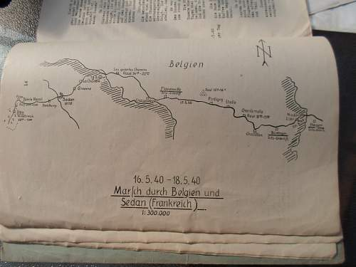 Kompanie campaign history and assorted papers 9./J.R.20 (mot )