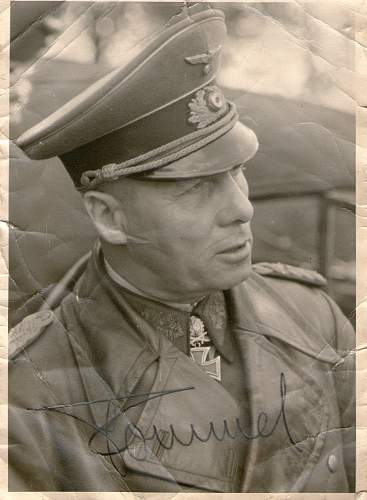 Thoughts on this Rommel signature.