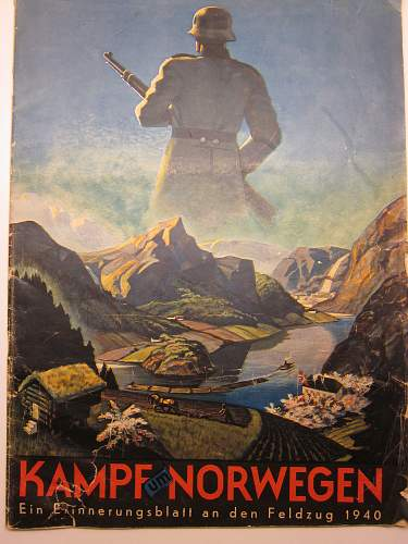Nice Propaganda paper about the invasion of Norway