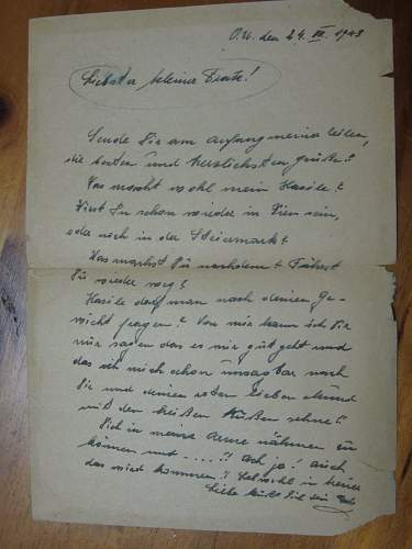 German Letters from the GARBAGE! Need Help Translating!