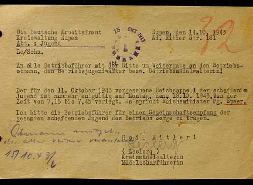 BDM/HJ document order translation
