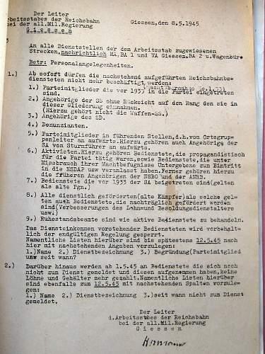 Translation of German Political Prisoner documents?