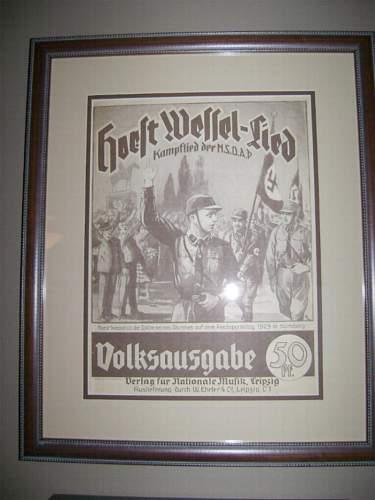 Horst Wessel Sheet Music, Need Help