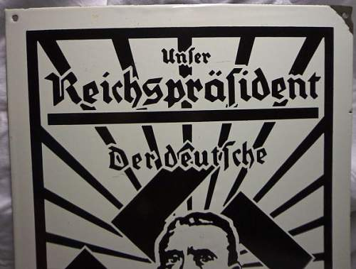 Nazi Party Sign