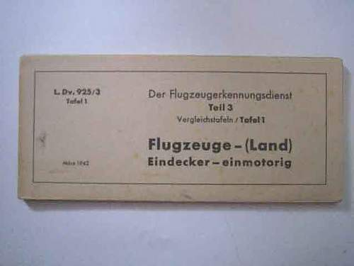 Printed aircraft recignition material
