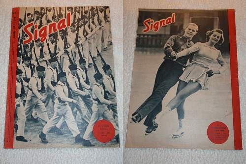 Just some nice Signal Magazines and special editions from 1939 !!