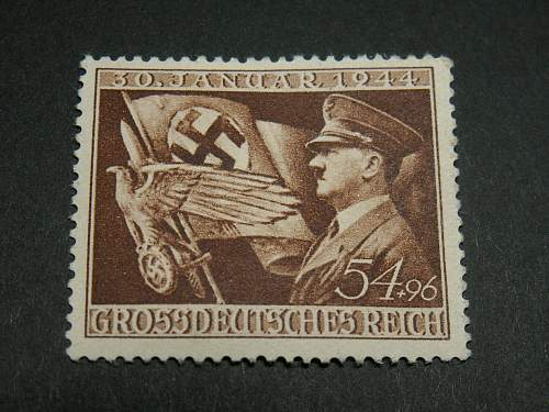 11th anniversary of Hitlers coming to power stamp