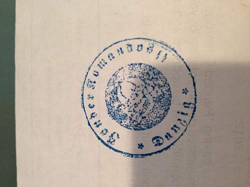 SS Document Stamp
