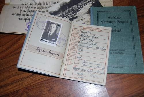gestapo docs with Heydrich signatures
