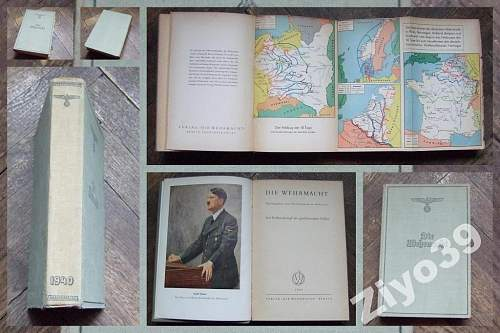 Die Wehrmacht  1940 Book