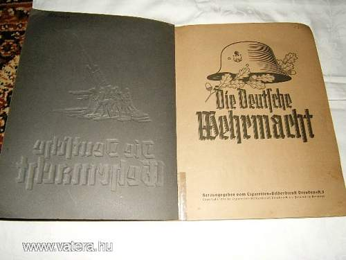ww2  images album book wehrmacht Original? beautiful