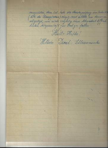 German Letter: Translation help needed please
