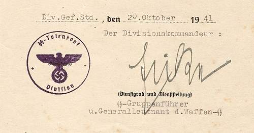 Click image for larger version.  Name:signed by SS-Gruppenfuhrer THEODORE EICKE a.jpg Views:177 Size:87.4 KB ID:44257