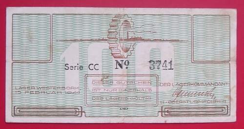 KL-Westerbork currency