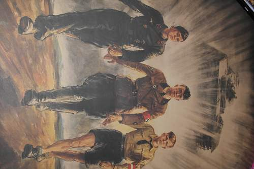 hitler youth,panzer commander?? proaganda poster