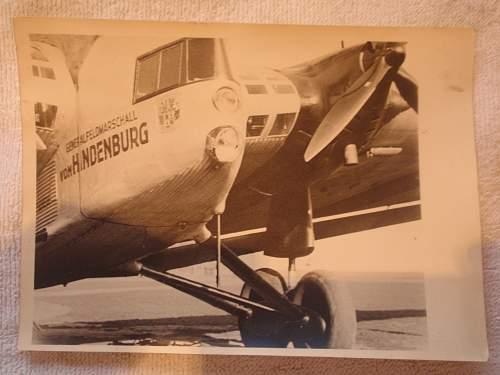 Photo Generalfeldmarschall von Hindenburg