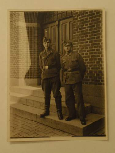 2 soldiers in Vejle Denmark