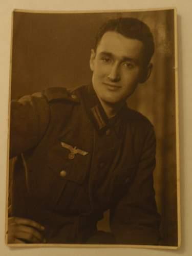 Fallen soldier in Nordafrika
