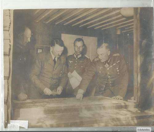 Press Photo Of Hitler