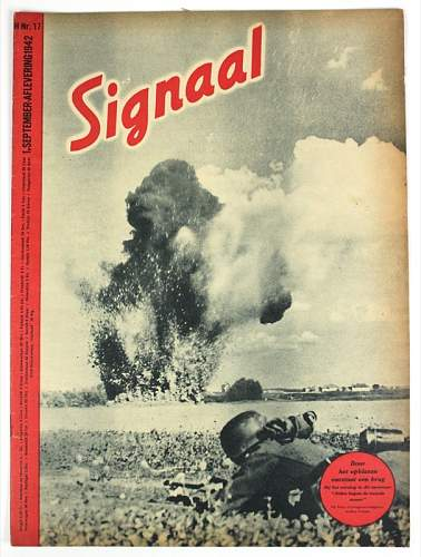 TWO WW2 Dutch Singal magazine's