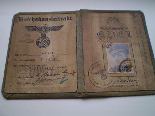 German documents? what are these? fake?