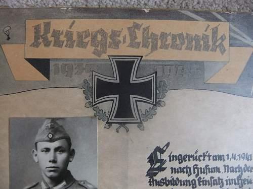 Kriegs Chronik !!