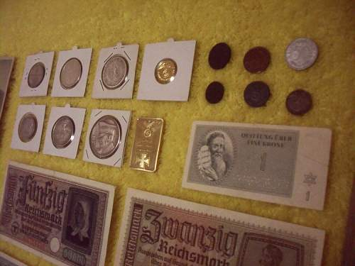 Money ( Silver coins and bills)