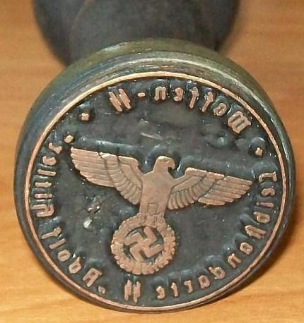 Waffen inkstamp from Poland, legit or scam?