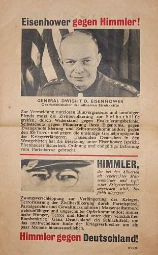 Propaganda leaflet