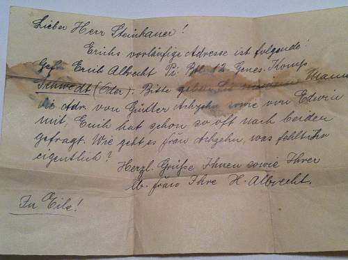 papers and documents forund in a Soldbuch