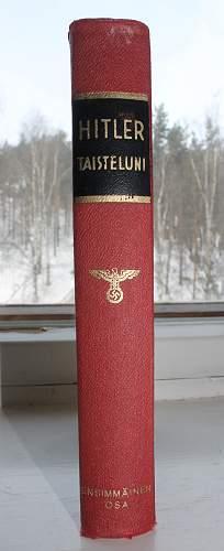 Finnish copy of Mein Kampf