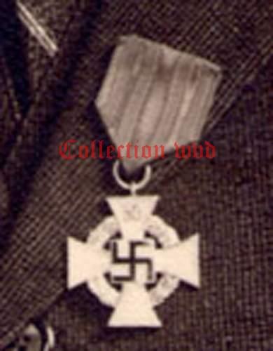 50 year service cross