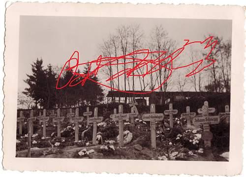 French legion graves