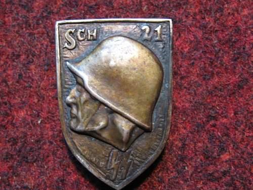 SS badge?