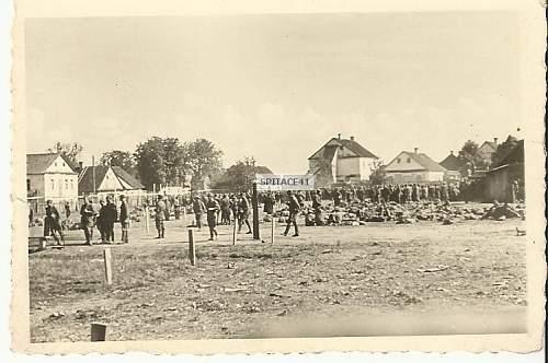 Photo of POW camp?