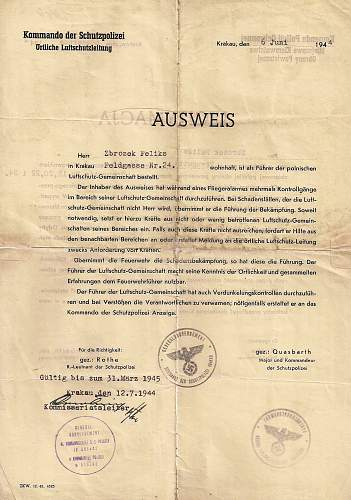 Identifying a signature....1944