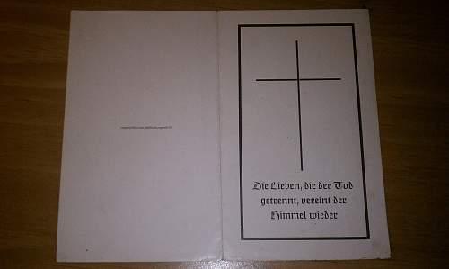 Death Card newbie question