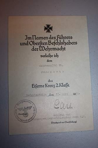 EK2 Award Document. Opinions Please.