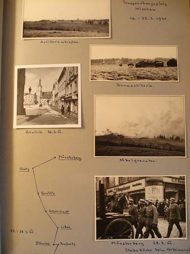 262nd Inf Div Photo album to Doctor poland russia 41