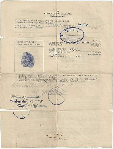 Need Help with Documents in Luftwaffe Vet Grouping...
