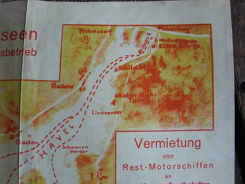 Are these maps Third Reich, or Post War?