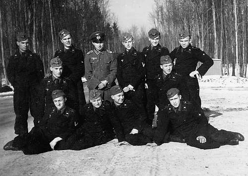 Major Graf Seherr Thoss - Panzer Inst. Abt. 559