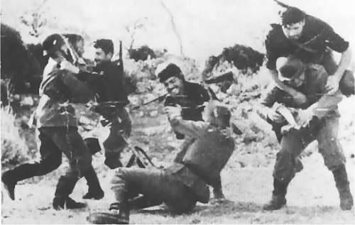 Hand to hand combat from Crete!