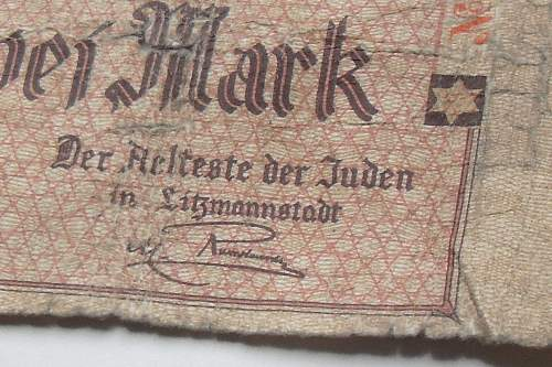 Litzmannstadt currency