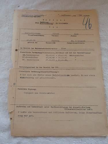 Bericht Osteinsatz Legionowo 1944