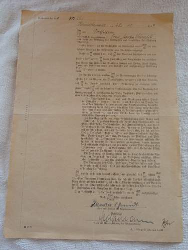oath of allegiance to Hitler 25-10-1944