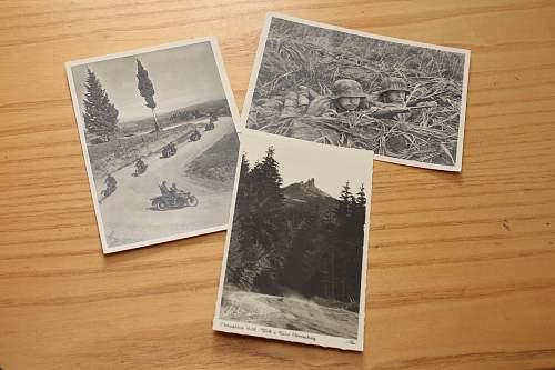 KZ Flossenburg SS post cards