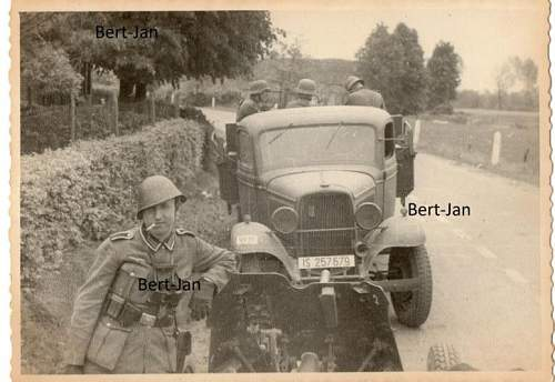 Also Germans soldiers collected...